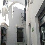 Испанская деревня.Белый город