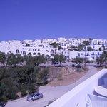 Vista dall'hotel verso Naoussa