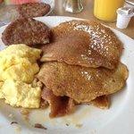 The best whole grain pancakes
