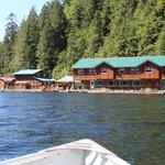 The beautiful new lodge