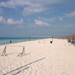 White sand beach! Beautiful