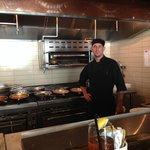 Pasta Chef Mark Confessore balances more than a dozen handmade pasta sauces & styles simultaneou