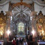 Altar visto mais de perto
