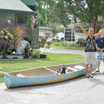 getting ready to start our trip down the Chassahowitzka River...