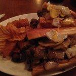 (Philly) Steak Sandwich with Cheez Whiz; Homemade Chips