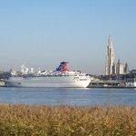 Antwerp's most important lifeline... The river Scheldt