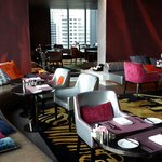Very comfortable and private club signature.  25th Floor.