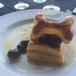 Yellow Dog Escargot  Puff pastry. Great Garlic sauce.