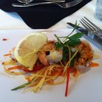Shrimp with honey chili sauce