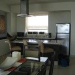 View of kitchen in 1 bedroom suite