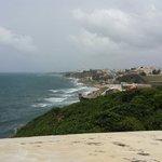 A view of Old San Juan