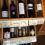 Some of the wine selection.
