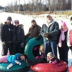 Ski Roundtop snow tubing