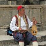 Croatian Lute Player