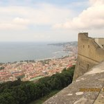 overlooking Naples bay from St. Elmo Castle