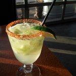 Cucumber Margarita.
