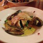The fish dinner
