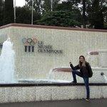 Frente do Museu Olímpico