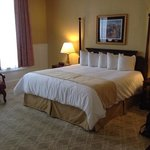 king suite room with whirlpool tub #208