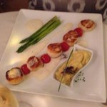 Scallops! yum! 11 July 2014