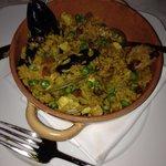 Seefood paella