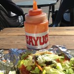 Don't forget the Cayucos Hot Sauce!