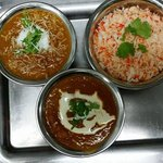 Curries prepared by our chef