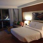 Guest room spacious modern clean