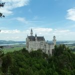 Schloss Neuschwanstein as seen from Marien brucke