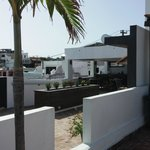 The rooftop terrace/bar