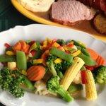 Tkalcovsky dvur vegetable side