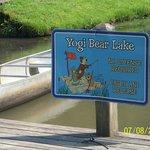 Yogi Bear Lake - Muddy - BUT FUN - Good Fishing!