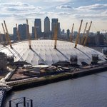We are only one stop away from the O2 Arena!