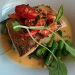 Whitefish with Lobster Beurre Blanc