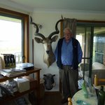 Tony with his prized Kudu