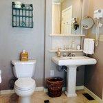Nice bath facilities.