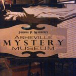Mystery Museum we visited at the end of the Haunted Asheville tour