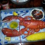 NE style lobster dinner
