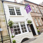 Number Six Castle Street, just a stones throw from Warwick castle.