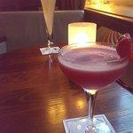 Very nice drinks, Daquari & Bellini