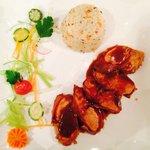 Pollo al curry e riso pilaf