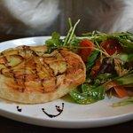 Chicken Potatoe Leek and Thyme Tart