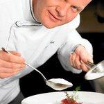 Chef Johan Breedijk in action
