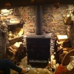 Medieval Fire place