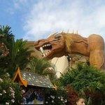 The Dragon was so fun!