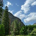 Ouray Berg Blick