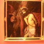 Christ with the cross.  Juan de Roelas