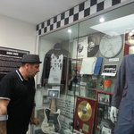 The Specials' display in the museum