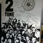 2-Tone Wall of Fame in 2-Tone Cafe