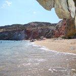 La spiaggia di Paleochori